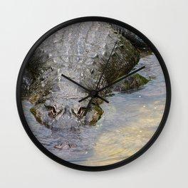Gator Boy Wall Clock