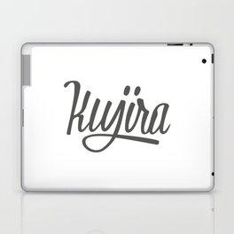 Kujira streetwear logo Laptop & iPad Skin