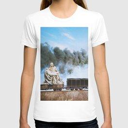 Pietà Train T-shirt