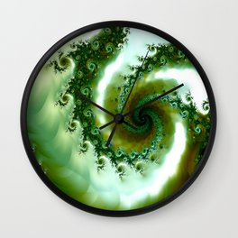 Amongst the seaweed Wall Clock