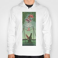 haunted mansion Hoodies featuring Disquieting Metamorphosis - Haunted Mansion by Patricia Cervantes