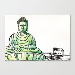 Japan : Hyogo Daibutsu Canvas Print