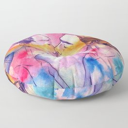 Out Of My Body Floor Pillow