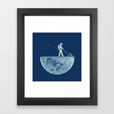 Mown Framed Art Print
