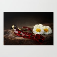 Red Marbles Canvas Print