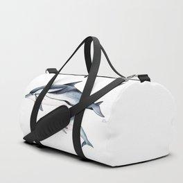 Striped dolphin Duffle Bag