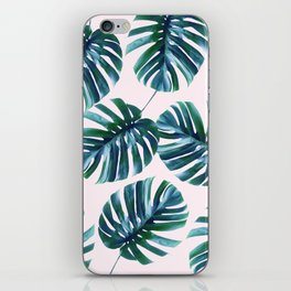Monstera Pattern #society6 #decor #buyart iPhone Skin