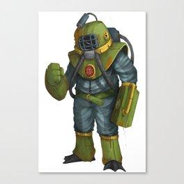 Bubble Man Canvas Print