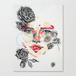 Della Flowers Canvas Print