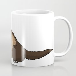 Ferret Illustration Coffee Mug