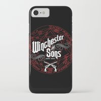 winchester iPhone & iPod Cases featuring Winchester & Sons by Manny Peters Art & Design