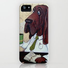 Coffee Hound iPhone Case
