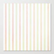 Flannelette Stripes Design Canvas Print