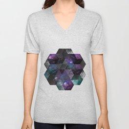 Geometric Universe Unisex V-Neck