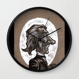 Victorian Profile_1 Wall Clock