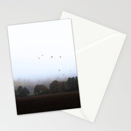 MISTY OCTOBER DAY-VI Stationery Cards