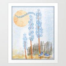 Contentment 2 Art Print