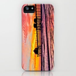 HB Sunsets Calendar Cover 2015 iPhone Case