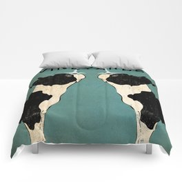 Boston Terrier Wine Vineyards Fowler Comforters