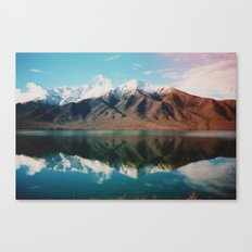 New Zealand Glacier Landscape Canvas Print