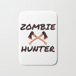 Zombie Hunter - Horror Infects Undead Blood Stain Bath Mat