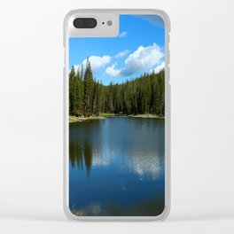 Tranquil Morning At Gull Point Drive Clear iPhone Case