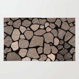 Stone texture 2 Rug