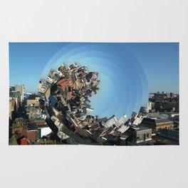 Spinning City Rug