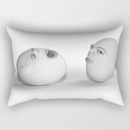 Cracked Egg & a Wink Rectangular Pillow