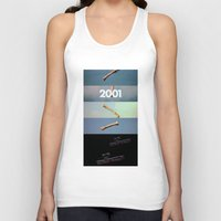 2001 a space odyssey Tank Tops featuring 2001: a space odyssey by Lucas Preti