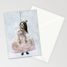 sad princess Stationery Cards