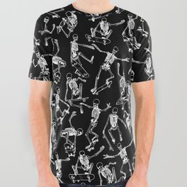 Grim Ripper BLACK All Over Graphic Tee