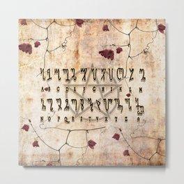 TheBan Alphabet Metal Print
