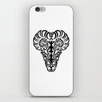 aries iPhone & iPod Skins featuring Aries by Mario Sayavedra