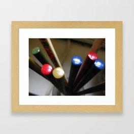 Chopsticks Framed Art Print