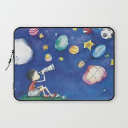 Stars and little planets Laptop Sleeve