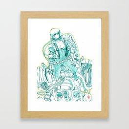 Ghost in the Shell 03 Framed Art Print