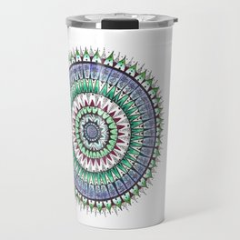 Unalome Madness Colored Travel Mug