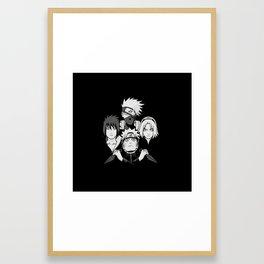 The Best Team 7 Framed Art Print