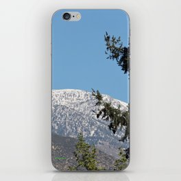 Southern California Snow Tease iPhone Skin