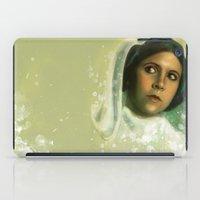 princess iPad Cases featuring Princess by Jackie Sullivan