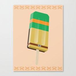 Ninja Turtles Ice Pops: Mike Canvas Print