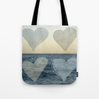 hearts Tote Bags featuring Hearts by Pure Nature Photos