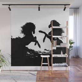 Wild horses 1 Wall Mural