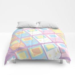 Pastel Gameboy Dreams Comforters