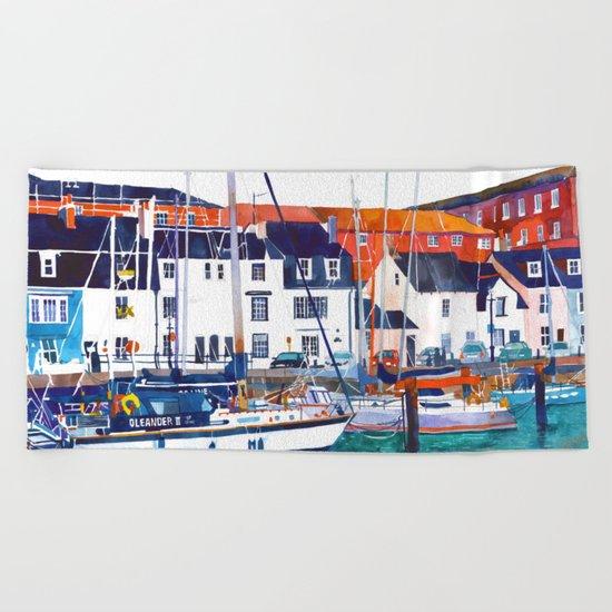 Weymouth Port Beach Towel