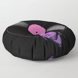 Afrovinyl (Boogiedown) Floor Pillow