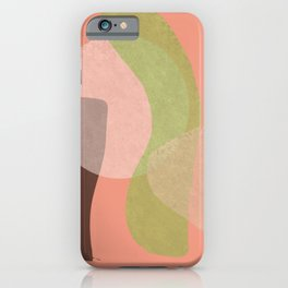 Minimal composition iPhone Case