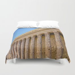 The Pantheon in Rome Italy Duvet Cover