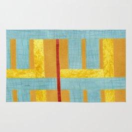 50s block colour Rug